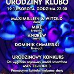 Urodziny KLUbo w nowej odsłonie! Celebruj sobotnią noc w Warszawie